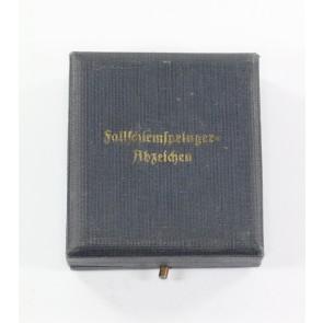 Luftwaffe, Etui Fallschirmspringer Abzeichen (!)