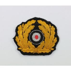 Kriegsmarine, Eichenlaubkranz mit Korkade für Offiziere