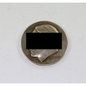 Medaille, Adolf Hitler - Vor 50 Jahren am 20. April 1889 wurde unser Führer Adolf Hitler der Schöpfer des Grossdeutschen Reiches geboren