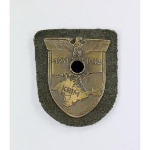 Krimschild auf Heeresstoff, Typ 3.12
