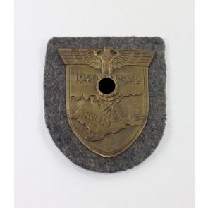 Krimschild auf Luftwaffenstoff, Typ 3.6