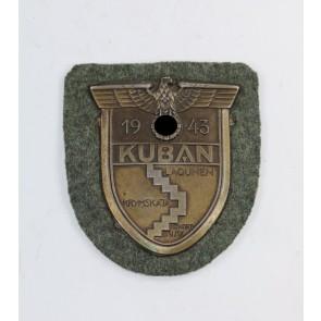 Kubanschild auf Heeresstoff, Typ 5.1