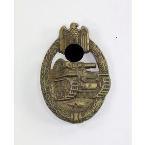 Panzerkampfabzeichen in Bronze, Hst. EWE