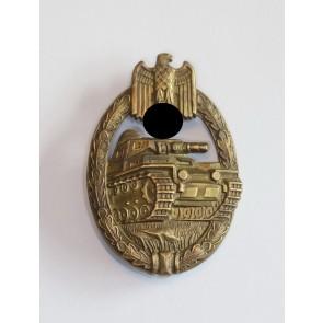 Panzerkampfabzeichen in Bronze, Wurster, Buntmetall