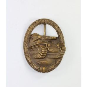 Panzerkampfabzeichen in Bronze, Ausführung 1957, Steinhauer & Lück