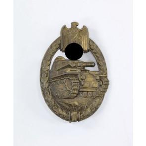 Panzerkampfabzeichen in Bronze, C.E. Juncker
