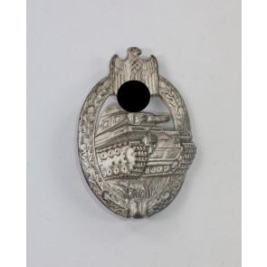 Panzerkampfabzeichen in Silber, Hst. AS Dreieck