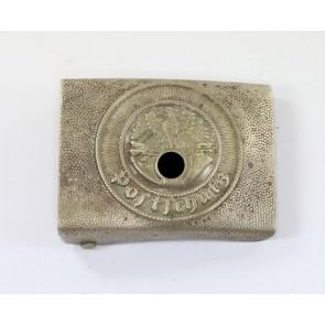 Postschutz, Koppelschloß, Nickelsilber