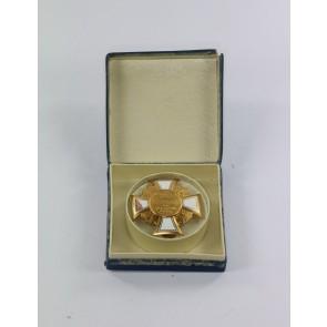 Preußischer Landeskriegerverband, Kriegerverein-Ehrenkreuz 1. Klasse, im Etui