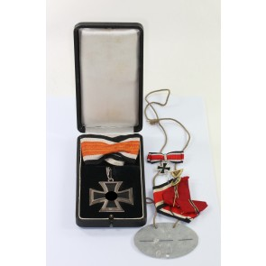 Ritterkreuz des Eisernen Kreuzes, Hst 800 L/12, im Etui