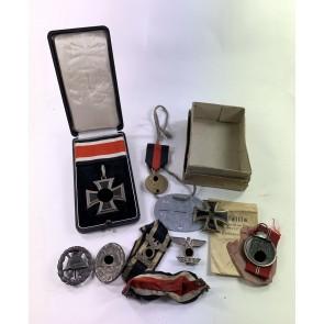 Ritterkreuz Nachlass General der Infanterie Walther Lichel