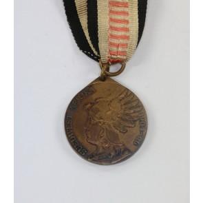 Südwest-Afrika Denkmünze für Kämpfer 1907 - Den Siegreichen Streitern Südwestafrika 1904-06