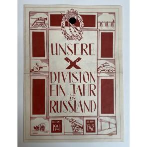 Schmuck Druck, Unsere Division ein Jahr in Russland 22.Juni 1941  22.Juni 1942