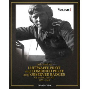 Fachbuch, Sebastian Talbot, The German Luftwaffe Pilot and Combined Pilot and Observer 1933-1945