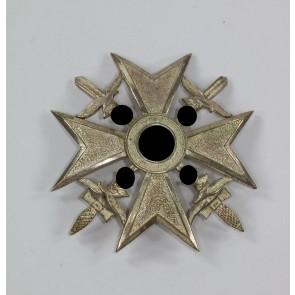 Spanienkreuz in Silber mit Schwertern, Förster & Barth
