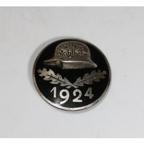 Stahlhelmbund - Eintrittsabzeichen 1924, Silber 935
