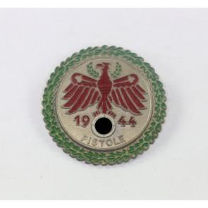 Standschützen Abzeichen, Pistole 1944 in Gold
