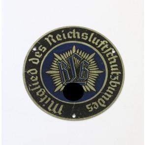Türplakette - Mitglied des Reichsluftschutzbundes