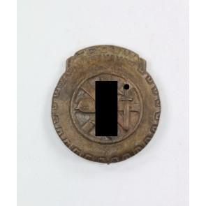 Trouw Abzeichen der holländischen Freiwilligen der NSKK Gruppe in der Luftwaffe