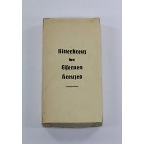 Umkarton für das Ritterkreuz des Eisernen Kreuzes - Steinhauer & Lück Lüdenscheid