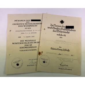Urkunden Gruppe, Jagdgeschwader Mölders