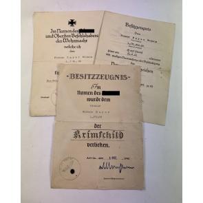 Urkunden Gruppe Krimschild