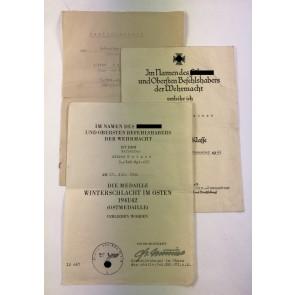 Urkunden Gruppe Infanterie (I.R. 453)