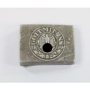 Wehrmacht Heer, Koppelschloss für Mannschaften, Hst. R.S.&S., Aluminium