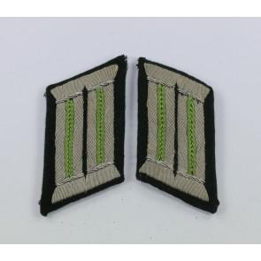 Wehrmacht, Paar Kragenspiegel Panzergrenadiere (Offizier)