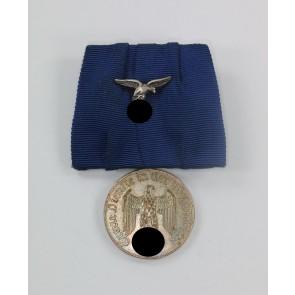 Wehrmachtsdienstauszeichnung IV. Klasse (4 Jahre), für 4 Jahre in der Luftwaffe, an Einzelspange