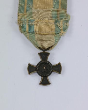 Bayern, Armee-Denkzeichen 1866, 27 MM Miniatur - Militaria-Berlin