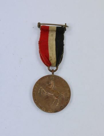 Deutscher Schützenbund (DSB), Medaille Opfreschießen 1935 - Kreisschützenbund u. U. Harburg Gau Niedersachsen - Militaria-Berlin