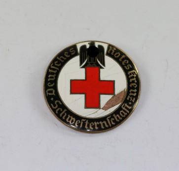 Deutsches Rotes Kreuz (DRK), Brosche Schwesternschaft, Schwestern für über See (!), 42 mm - Militaria-Berlin