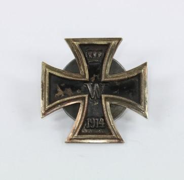 Eisernes Kreuz 1. Klasse 1914, Carl Dillenius , an Scheibe und Mutter - Militaria-Berlin