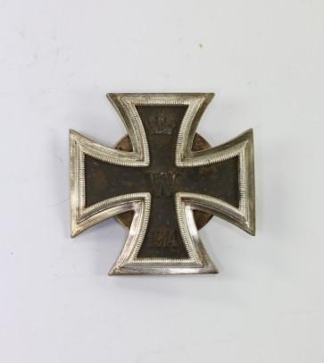 Eisernes Kreuz 1. Klasse 1914, in der Form von 1939, an Schraubscheibe, Paul Meybauer - Militaria-Berlin