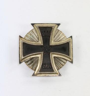 Eisernes Kreuz 1. Klasse 1914, in der Form von 1939, Deumer, Sternschraube - Militaria-Berlin