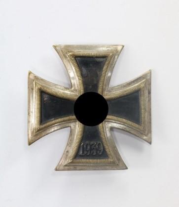 Eisernes Kreuz 1. Klasse 1939, C.E. Juncker, einteilig, nicht magnetisch - Militaria-Berlin