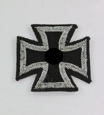 Eisernes Kreuz 1. Klasse 1939, gestickte (!) Ausführung - Militaria-Berlin