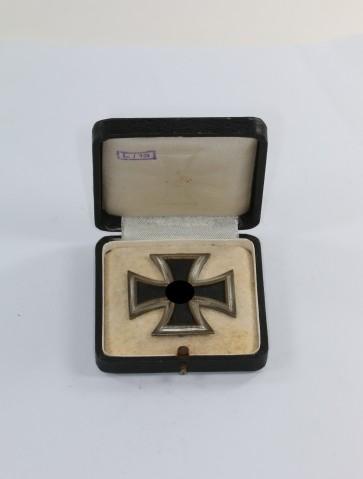 Eisernes Kreuz 1. Klasse 1939, Hst. L/13, im LDO Etui 1. Form, L/13 - Militaria-Berlin