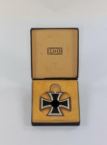 Eisernes Kreuz 2. Klasse 1939, Hst. 13, im LDO Etui - Militaria-Berlin