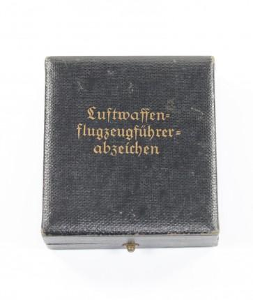 Etui Luftwaffen Flugzeugführerabzeichen - Militaria-Berlin
