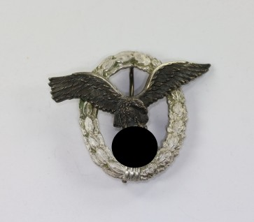 Flugzeugführerabzeichen der Luftwaffe, Hst. Brüder Schneider A.G. Wien (ausgeschrieben) (!) - Militaria-Berlin