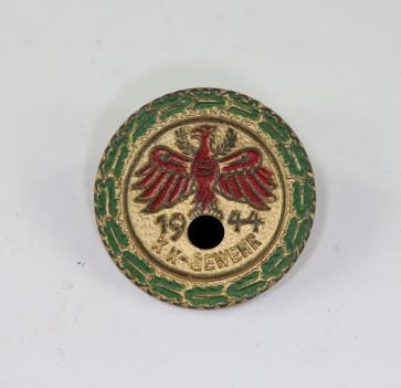 Standschützen Tirol, Gaumeister in Gold mit Eichenlaub KK-Gewehr 1944 (Klein) - Militaria-Berlin