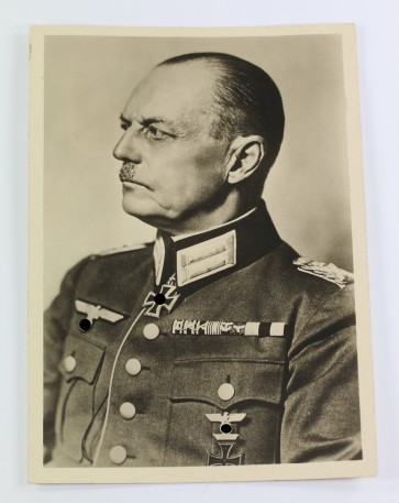 Propaganda-Postkarte,Generalfeldmarschall Runstedt - Militaria-Berlin