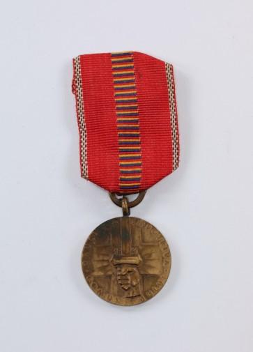 Rumänien, Medaille Kreuzzug gegen den Kommunismus - Militaria-Berlin