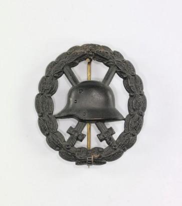 Verwundetenabzeichen in Schwarz 1918, durchbrochen - Militaria-Berlin