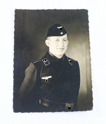 Portraitfoto Panzermann - Militaria-Berlin