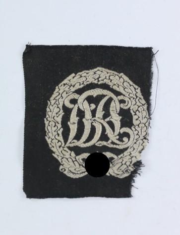 Reichssportabzeichen in Silber, Stoff - Militaria-Berlin