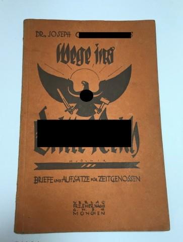 "Buch, Dr. Goebbels, ""Wege ins dritte Reich"" 1927 - Militaria-Berlin"