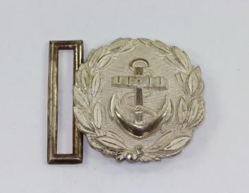Kriegsmarine, Feldbinden Schloss Marinebeamte - Militaria-Berlin